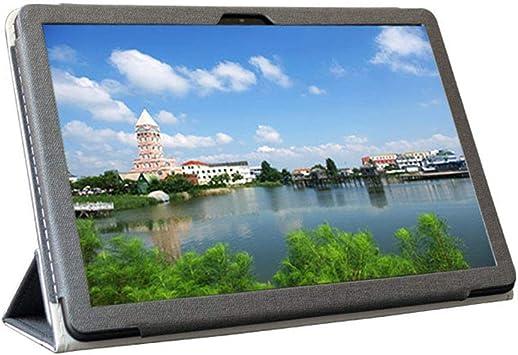 Zshion Funda para tablet Teclast T30, de piel sintética, plegable, con función atril, para Teclast T30, color negro