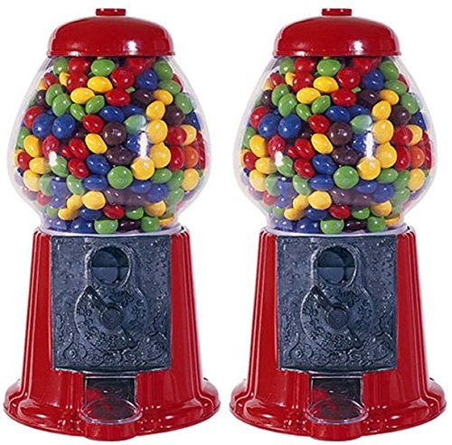 Junior Gumball Machine (Carousel Medium Gumball Bank, 12