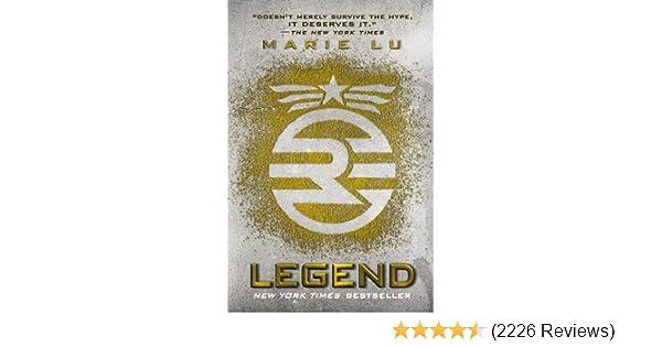 Amazon com: Legend (A Legend Novel, Book 1) eBook: Marie Lu