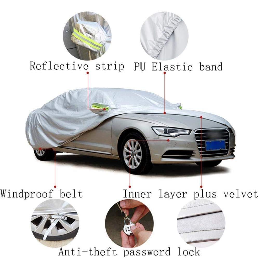 CRRQQ Mercedes-Benz AMG CLA 45 4MATIC copertura parcheggio esterno copertura antipolvere in tessuto Oxford auto Vele da auto Abbigliamento Protezione solare di isolamento UV Scratch Resistant All Weat