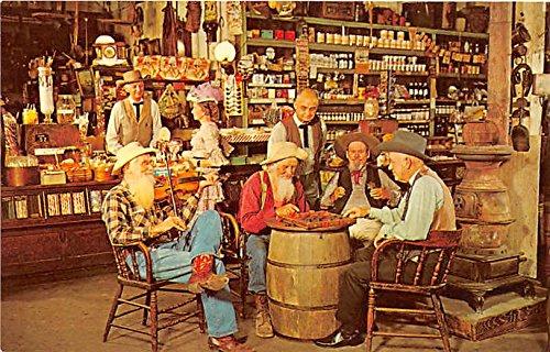 Checker Game Knott's Berry Farm, Ghost Town, California, CA, USA Postcard Post - Checker Berry