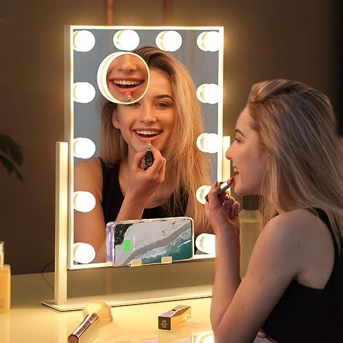 Misavanity Large Hollywood Vanity Makeup Mirror