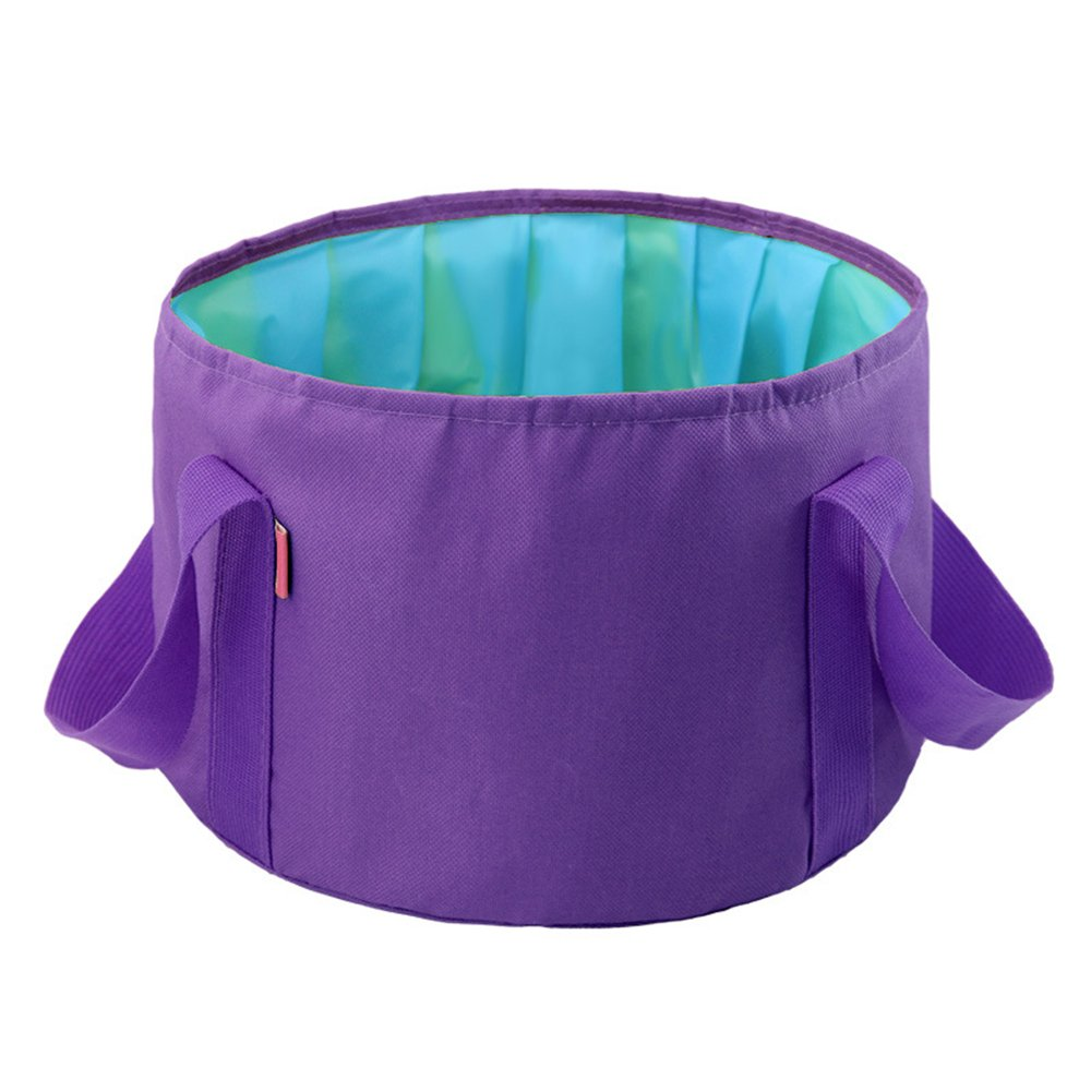 32c926d59f9 15L Portable Folding Basin Multi-functional Travel Face    Foot Washing  Bucket Tank Outdoor