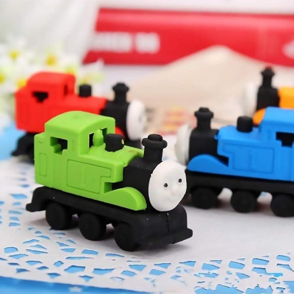 Yihaifu Enfant Cartoon Petit Train t/ête en Caoutchouc Gomme Prix /étudiant Gomme Enfant Bureau Cartoon /école Papeterie Eraser Couleur al/éatoire