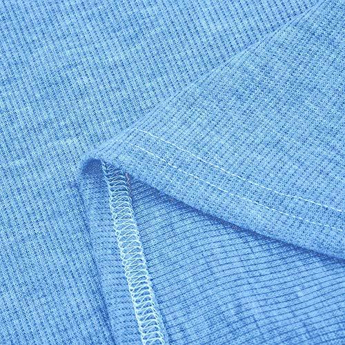 Neck Mode en O Haut Vrac Fille T Blouse Solide Manches Longue Femmes Les Bureau Vetements Automne Tops Chic Fronde Tous Bretelles 1 Chemise Dcontracte Jours t sans OVERMAL et Sexy Bleu Shirt qzSwZ6w