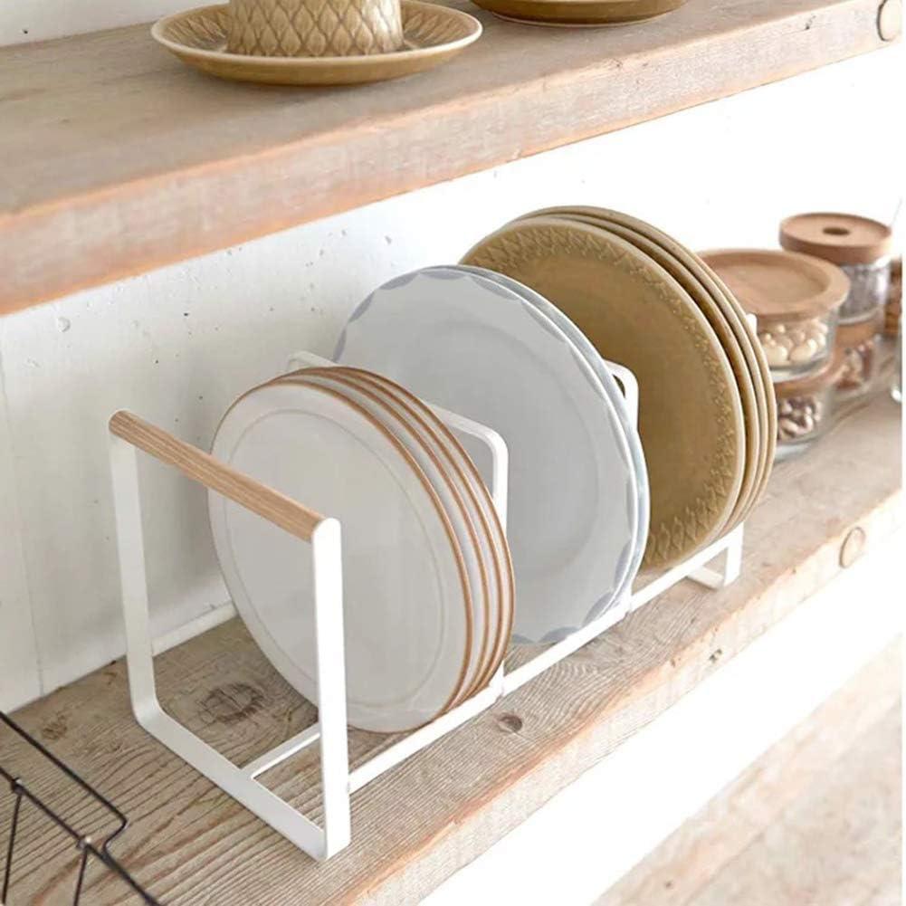 Estante de Almacenamiento de Cocina Cocina para gabinetes Platos de encimeras Estante de Platos Gpzj Estante para Platos estantes de despensa