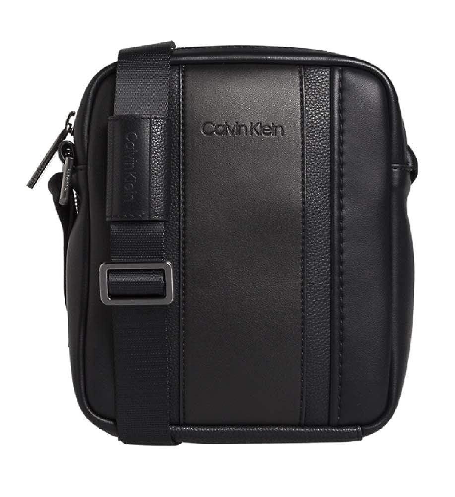 Calvin Klein - Essential 1 G Ipad Mini Reporter, cartera Hombre, Negro (Black), 6x17x21 cm (B x H T) K50K504220