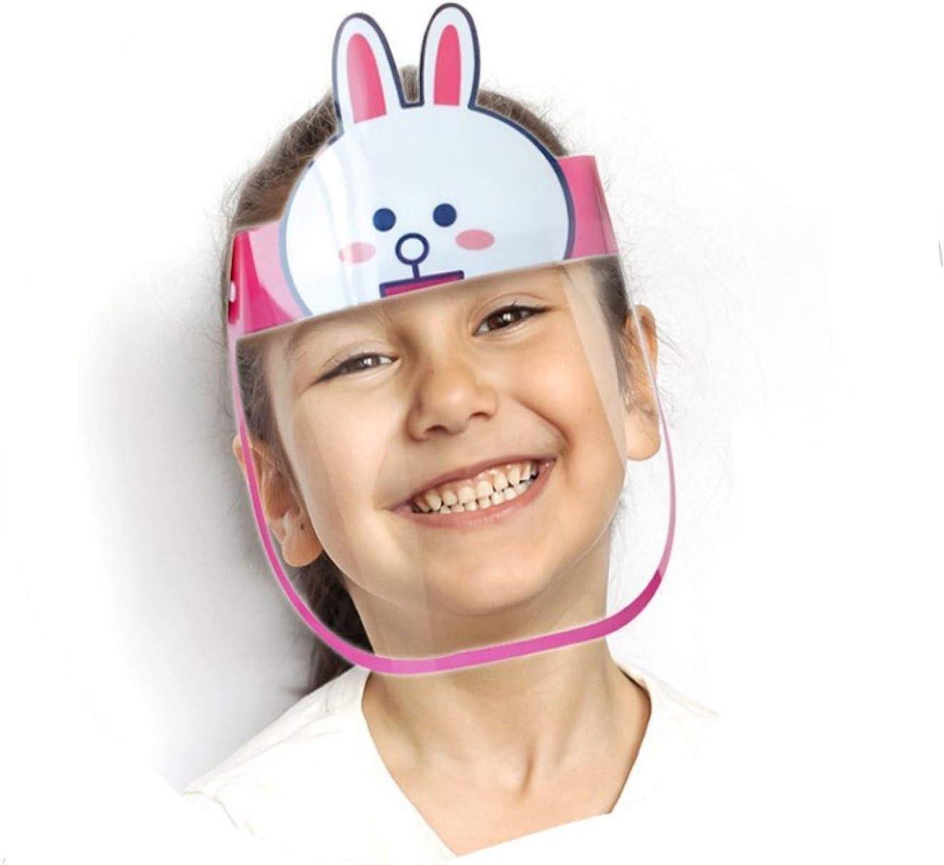 Gesichtsschutz Plexiglas f/ür Kinder Mundschutz f/ür Kinder Gesichtsschild f/ür Kinder braun - B/är Schutzschild Kinder Visier aus Kunststoff