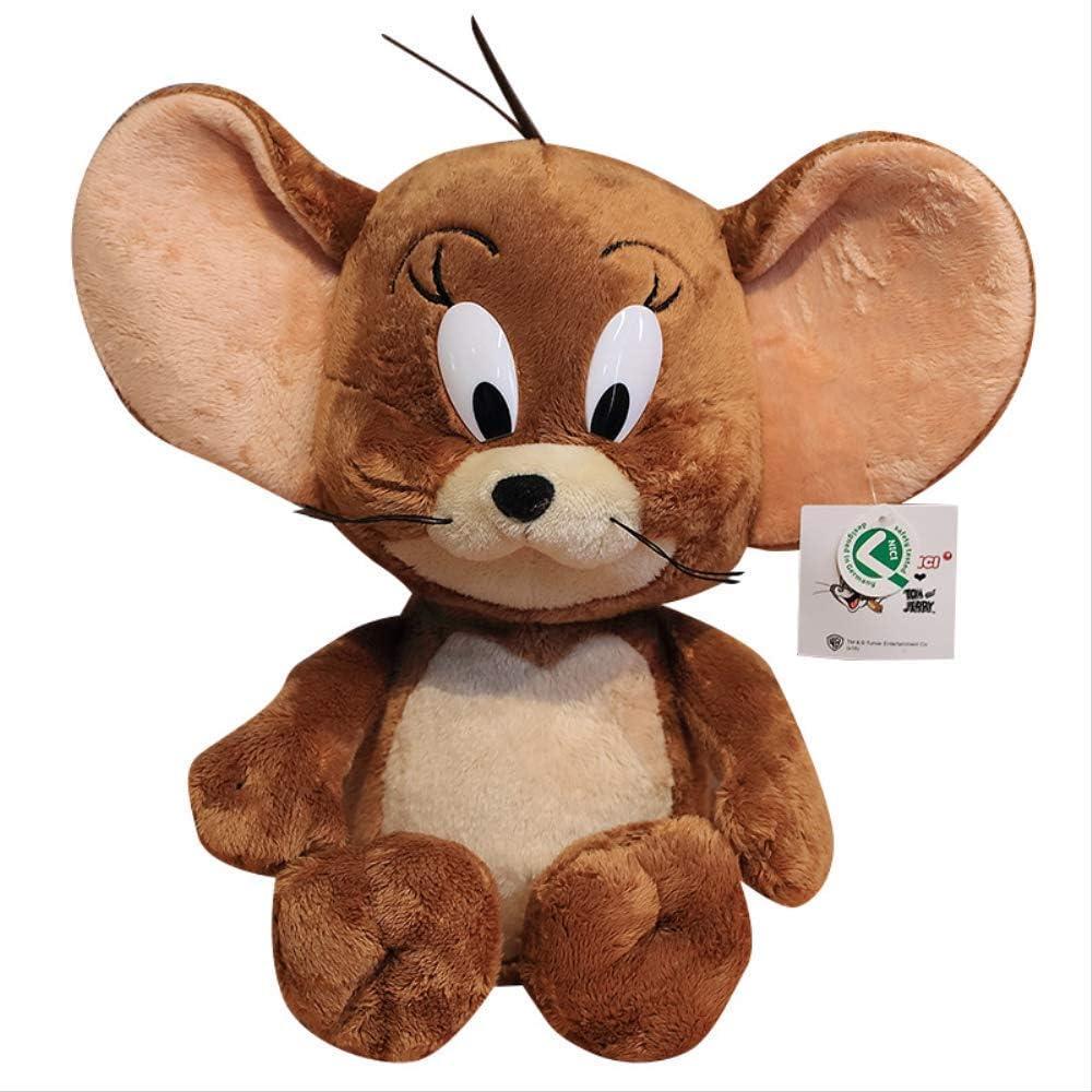 Serie de gato y ratón Jerry Mouse Doll Peluche 40cm Lindo regalo de cumpleaños suave para niños