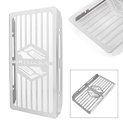 Amazon com: GZYF Stainless Steel Motorcycle Radiator Cover