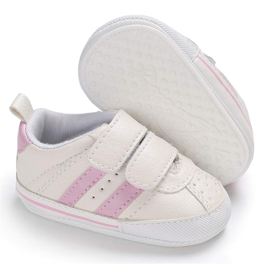 Baby Boys Girls Sneakers Anti-Slip Rubber Sole Infant First Walker Toddle Outdoor Shoes