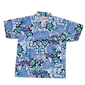 Camisa hawaiana tortuga niño Morado morado