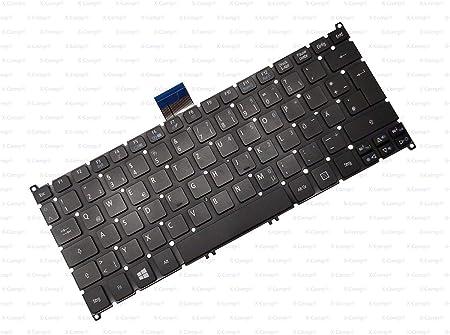 X-Comp - Teclado para Acer Aspire E3-112, E3-112M, S3-371, S3 ...