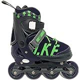 MammyGol Adjustable Inline Skates for Kids, Girls Boys with Light up Wheels