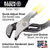 Pump Pliers, 10-Inch, with Tether Ring Klein