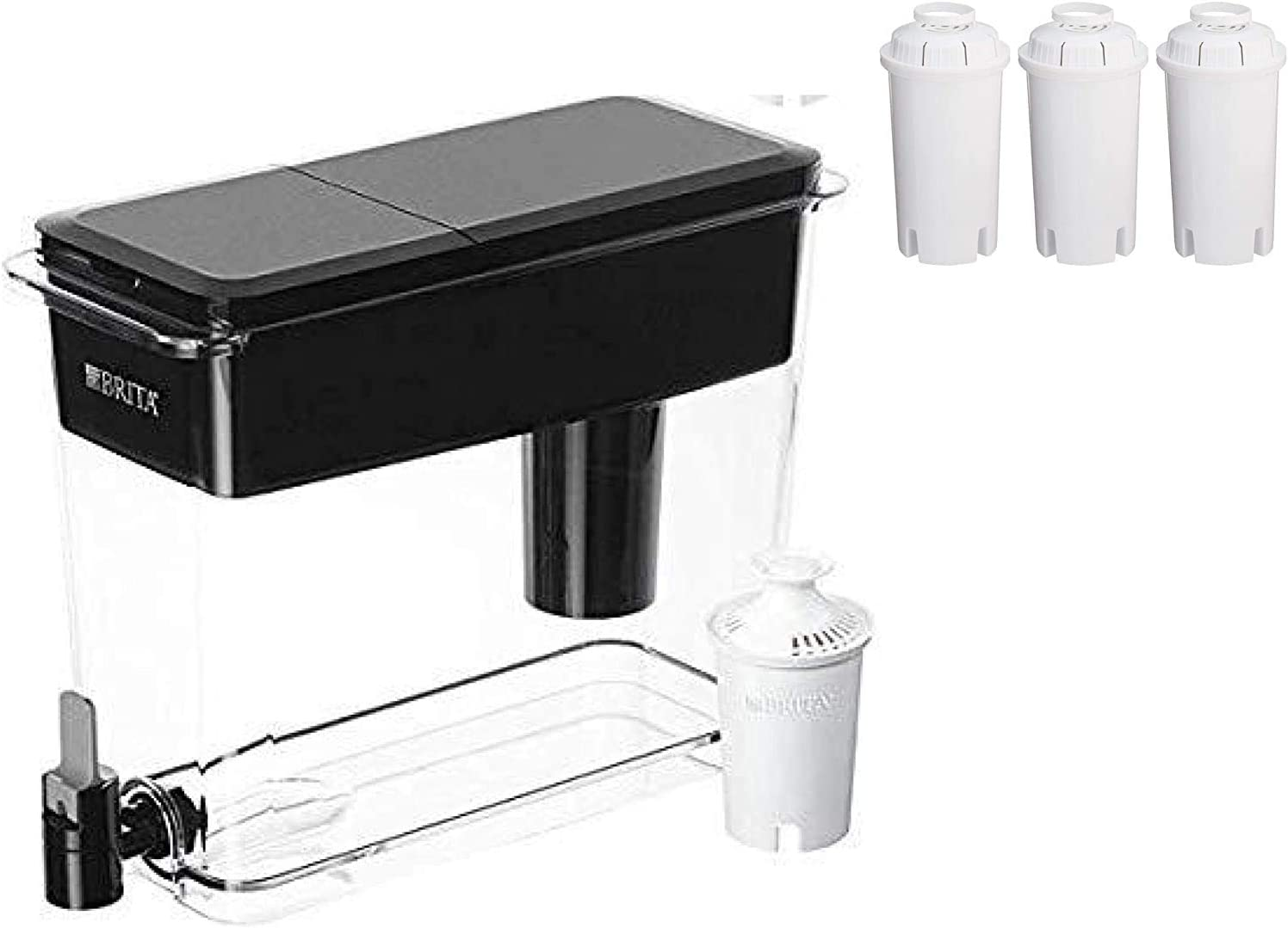 Brita Extra Large 18 Cup UltraMax Dispenser with Filters