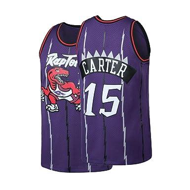 online store 7f5e0 3e056 Mens Carter Jersey 15 Basketball VC Hardwood Classic Adult Toronto Vince