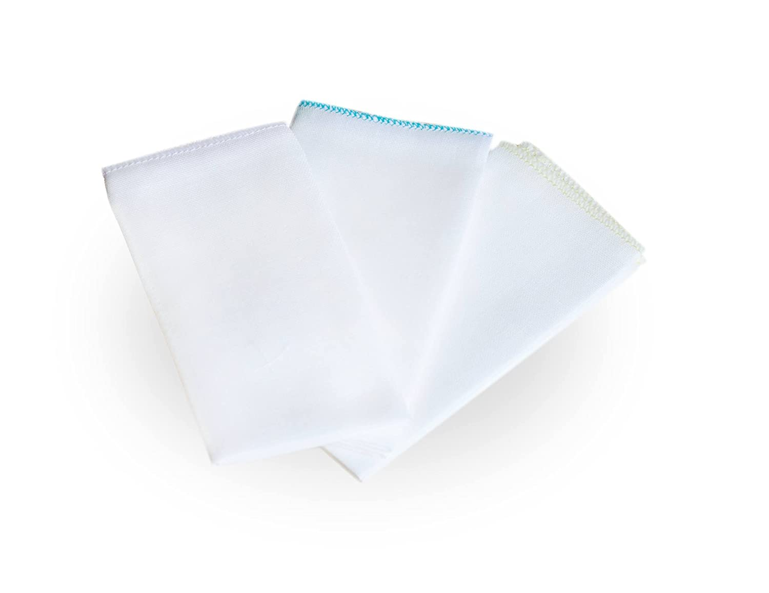 3x Cotton Soft Facial Cleansing Muslin Cloths Remove Makeup Tool PREMIUM PureClean