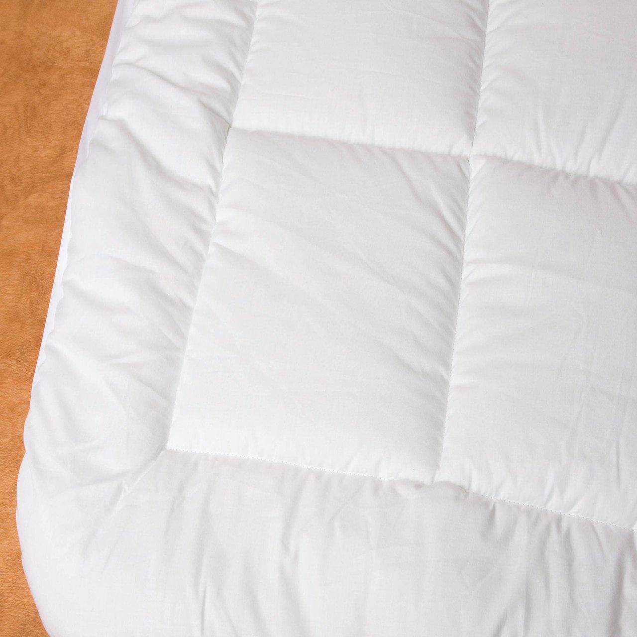 Marbella Hotel Pillow Top Mattress Pad Protector Cover - King (78''x80'')
