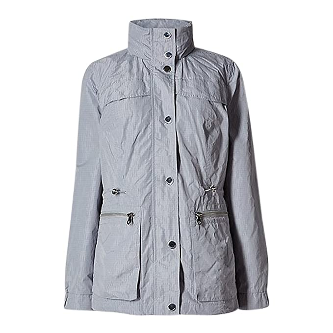 The Outlet London - Chaqueta - Manga Larga - para Mujer Gris ...