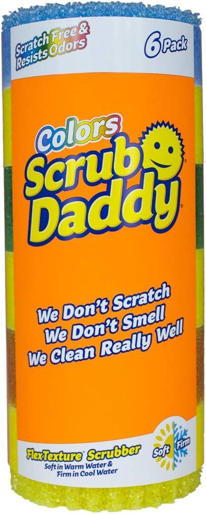 ダディ スクラブ アメリカで大人気の可愛いスマイルのスポンジ『Scrub Daddy(R)(スクラブダディー)』が日本初上陸