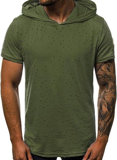 Chemise à Capuche Top t-Shirt décontracté