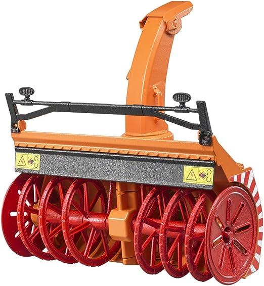 Bruder 02349 Zubehör: Schneefräse, orange: : Spielzeug