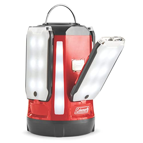 coleman led quad pro lantern with magnetic panels review