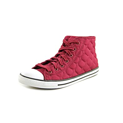 d33c54525fea Converse Chuck Taylor All Star Quilted Nylon Mid Oxheart Womens 6