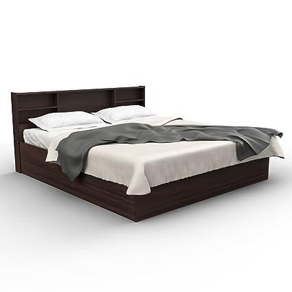 Forzza Jasper King Size Bed (Wenge)