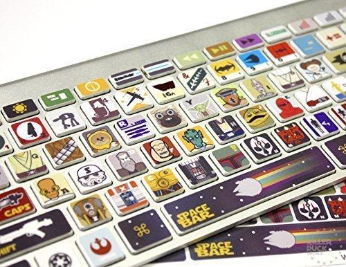 Macbook Keyboard Star Wars Skin / Vinyl Decals (Star Wars Laptop)