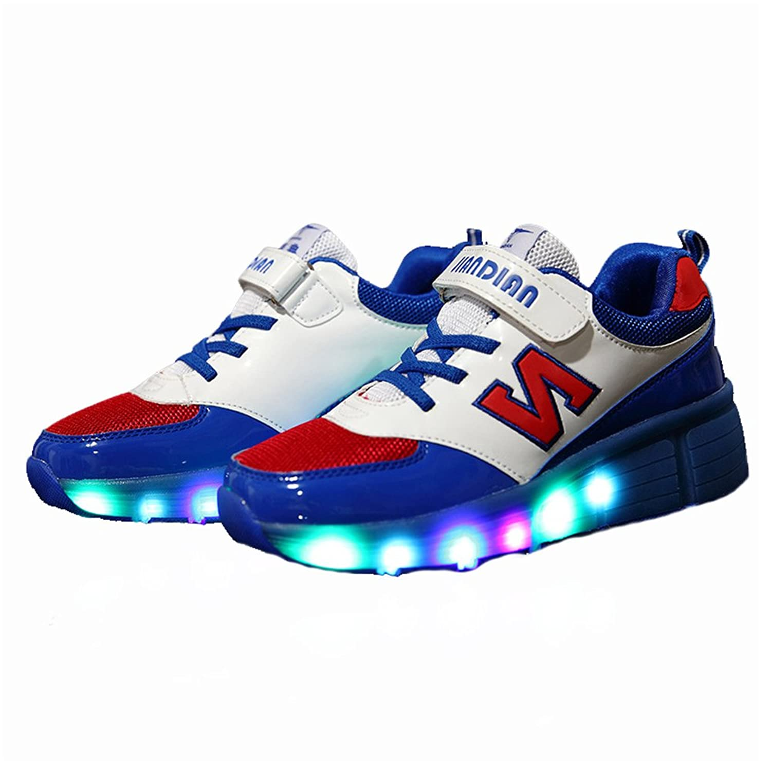 Roller shoes canada - Kids Led Light Shoes Roller Skates With Wheels Flashing Sneakers