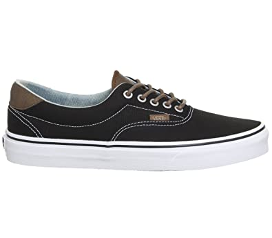 2f9d501c2c2f71 Vans Mens ERA 59 (C and L) Black Acid Denim Size 4