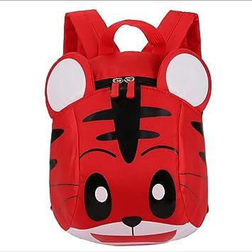 JZTRADING Cute Cartoon Tiger Rucksack School Bags Personalizado Gran Capacidad Confort Mini Mochilas Portátiles para Niños Niños y Niñas Senderismo al Aire ...