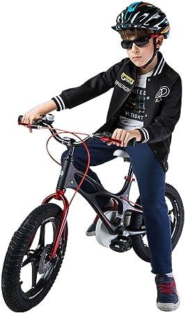 BaoKangShop Bicicletas Marco de Aleación de magnesio Niño Bicicleta 14 Pulgadas 16 Pulgadas Carro de bebé Masculino y Femenino 3-6 Años de Edad Bicicleta de bebé: Amazon.es: Deportes y aire libre