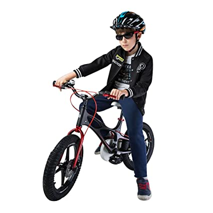 Bicicletas Marco de Aleación de magnesio Niño Bicicleta 14 Pulgadas 16 Pulgadas Carro de bebé Masculino