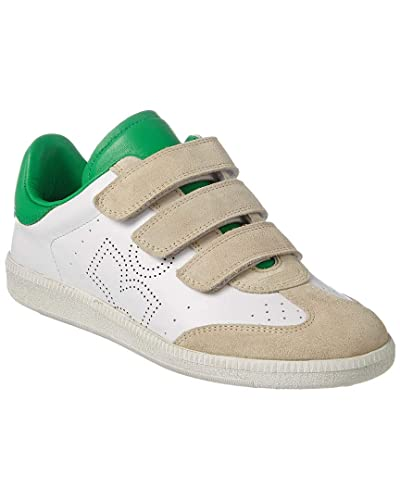 hot sale online 0925c ce2a9 Amazon.com   Isabel Marant Beth Leather Sneaker, 39, White ...