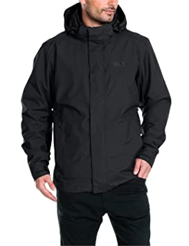 Jack Wolfskin chaqueta para hombre 3 en 1 Fairfield, otoño/invierno, hombre, color Negro - negro, tamaño XXL: Amazon.es: Deportes y aire libre