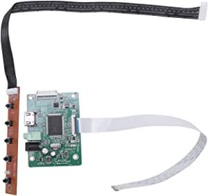 Yadianna 30Pin Hdmi Edp LCD Controller Board Driver Kit LCD Driver Board for 1080P 10.1 11.6 13.3 14 15.6 17 LCD Screen