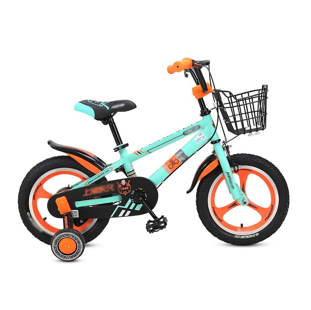 男の子と女の子子供の自転車2歳から8歳の赤ちゃんのキャリッジ自転車12 14インチの子供の自転車スポークホイール1つの車輪 B07DVYWYMYOne wheel 14 inch