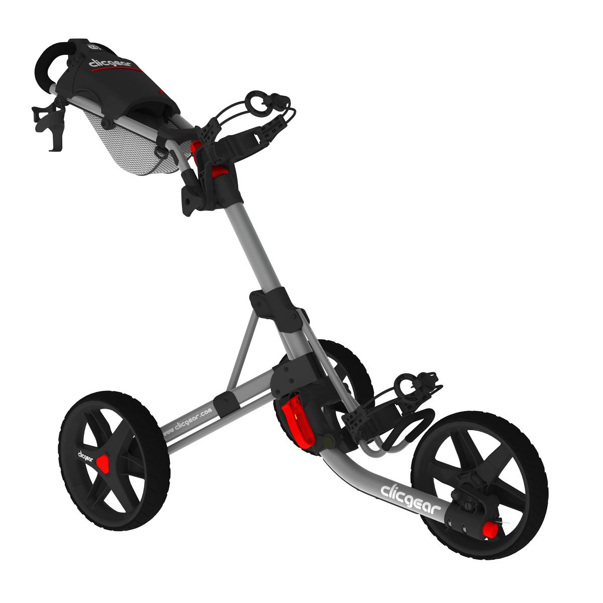 Clicgear Model 3.5+ Golf Cart, Grey/Black by Clicgear