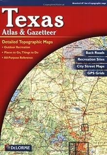 Amazoncom Universal Map Roads Of Texas Atlas Office - Atlas map of texas