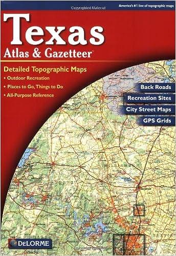 Texas atlas gazetteer delorme atlas gazetteer delorme null texas atlas gazetteer delorme atlas gazetteer delorme null 9780899333205 amazon books gumiabroncs Image collections