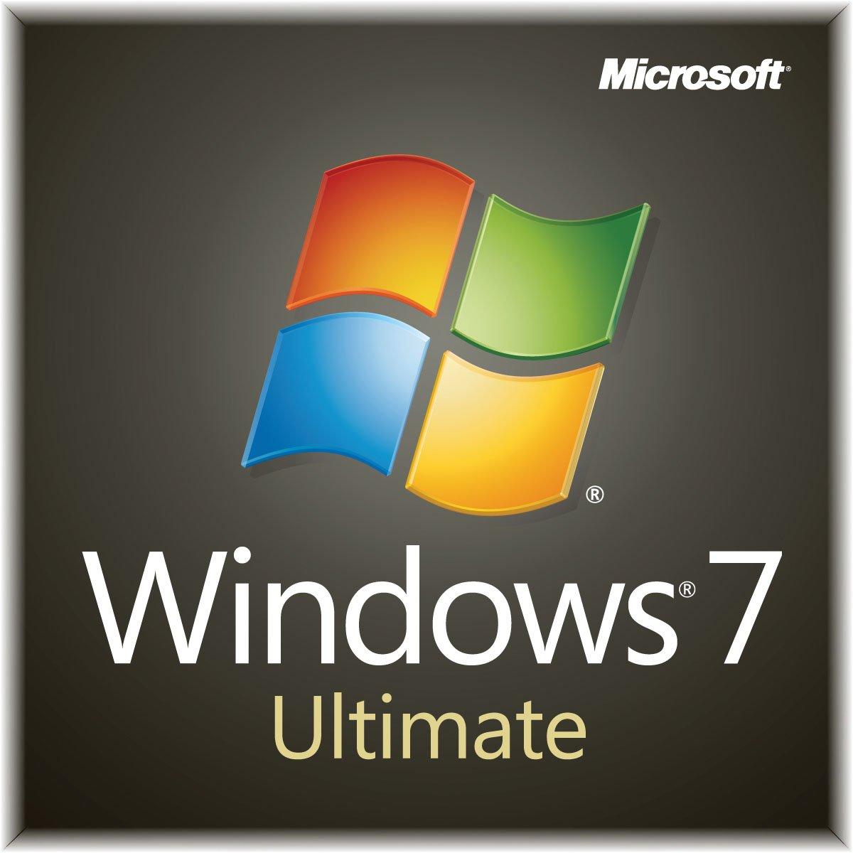 Windows 7 Ultimate SP1 64bit (Full) System Builder OEM DVD 1 Pack [Old Packaging] by Microsoft