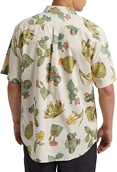 Burton Shabooya Camp Camisa de manga corta Verde Cactus XXL: Amazon.es: Ropa y accesorios