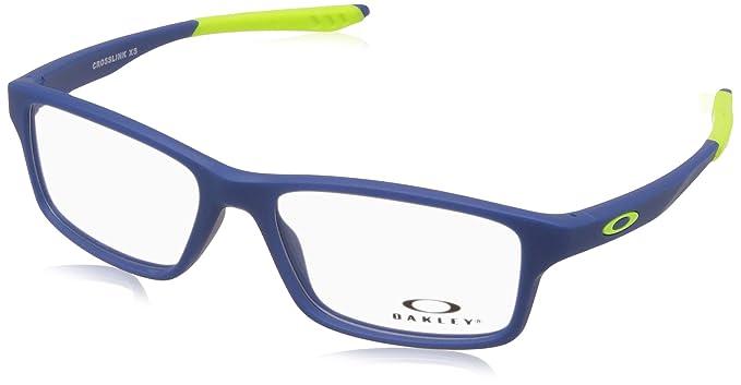 b0fc652c32 Oakley 0OY8002 Monturas de gafas, Satin Navy, 50 para Hombre: Amazon.es:  Ropa y accesorios