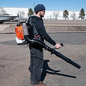 Gas-Powered leaf blower, 80cc back pack leaf leaf blower.