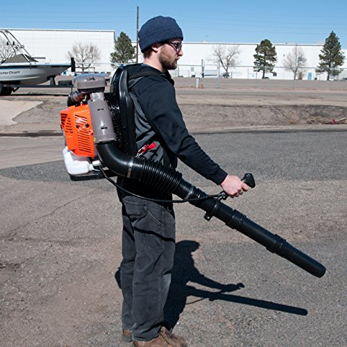 Gas-Powered leaf blower, 80cc back pack leaf leaf blower. by Tool Tuff