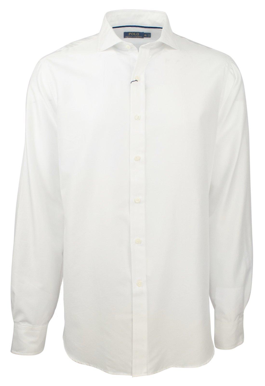 Ralph Lauren Polo Men's Regular Fit Solid Dress Shirt-W-XL
