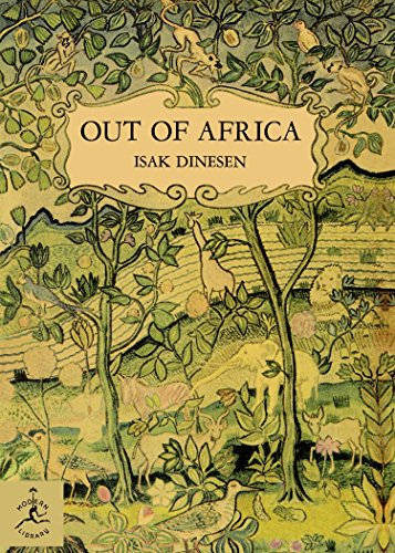 Pdf Reference Out of Africa (Modern Library 100 Best Nonfiction Books)